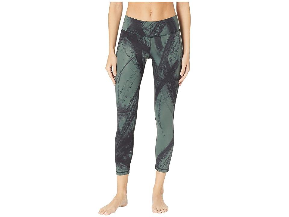 Reebok Lux Bold 7/8 Tights Chalked Movement (Chalk Green) Women