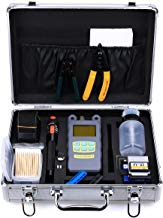 Genneric 22 in 1 FTTH Fiber Cold Connection Tool Kit Fc-6s Fiber Cleaver Optical Power Meter 10mw Visual Fault Locator