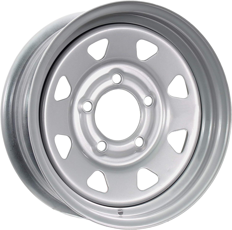 eCustomrim We OFFer at cheap prices Trailer Rim Wheel 13X4.5 Silver Popularity 1730 Spoke 3.19 C Lb.