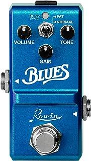 Honeytecs Rowin LN-321 Pedal de Blues Ampla Faixa de Resposta de Freqüência Estilo Blues Pedal de Efeito de Overdrive para...