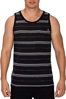 Hurley Men's Dri-fit Harvey Stripe Tank Top