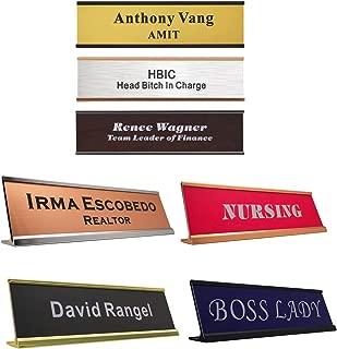 Best personalized desk placard Reviews