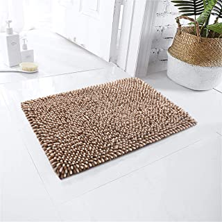 Bathroom Rug,COSY HOMEER 17x24 Inch Bath Rugs Made of 100% Polyester Extra Soft and Non Slip Bathroom Mats Specialized in ...