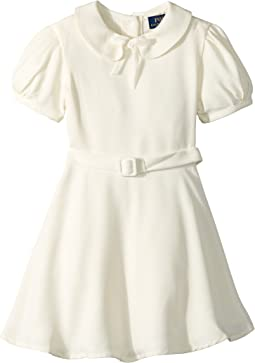Polo Ralph Lauren Kids - Belted Fit-and-Flare Dress (Toddler)