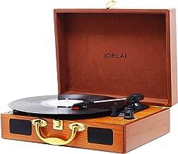 Best vinyl record player jorlai turntable Reviews