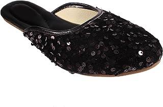 Shree Balaji Footwear EVA Slip-On Fashion Sandal For Women and Girls (SBFG0015-Black-9)