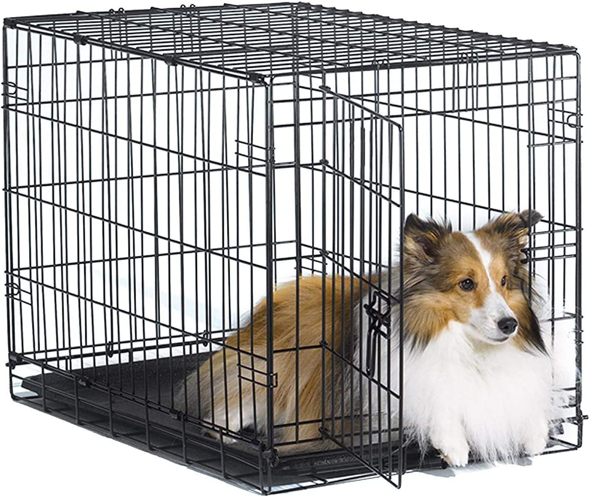 Best-for-Medium-dogs-New-World-Pet-Products-Folding-Metal-Dog-Crate-best-dog-crates