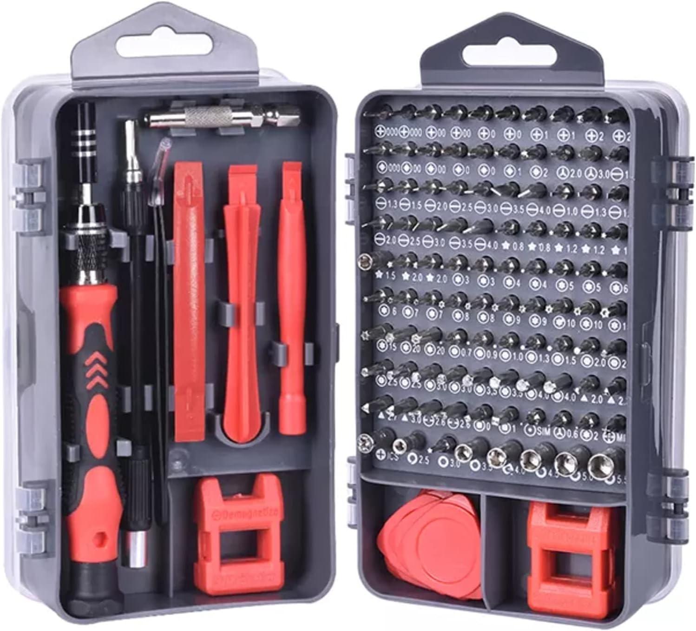 115 in 1 Repair Tools Screwdriver Set, Magnetic Screwdriver Bits