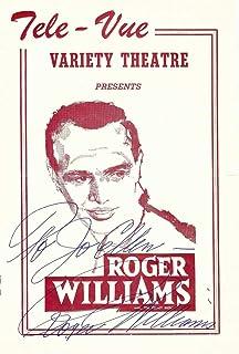 Roger Williams Signed Autographed Concert Program 1959 Singer JSA II59870