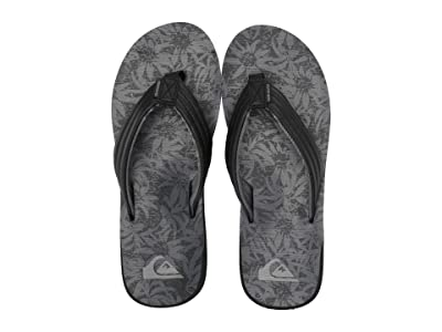 Quiksilver Carver Print (Black/Black/Grey 2) Men