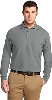 Port Authority Men's Long Sleeve Silk Touch Polo