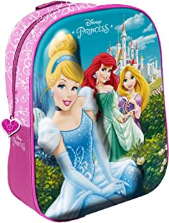 Star Licensing Disney Princess 3D-rugzak voor kinderen, meerkleurig
