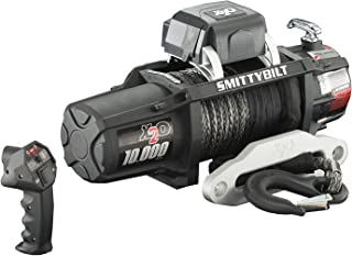 Smittybilt (98510 X2O Waterproof Synthetic Rope Winch - 10000 lb. Load Capacity