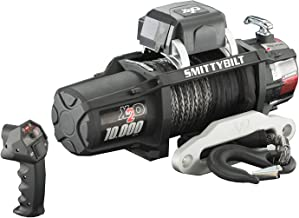 Smittybilt (98510 X2O Waterproof Synthetic Rope Winch - 10000 lb. Load Capacity