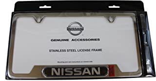 Genuine Nissan Accessories 999MB-SV000 License Plate Frame