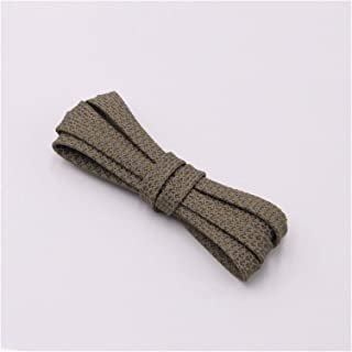 FDBHA Shoelace Runners Woven Belt Sports Safety Shoelaces Shoelaces for Running Shoes (Color : 316 Olive 3M, Size : 60cm)