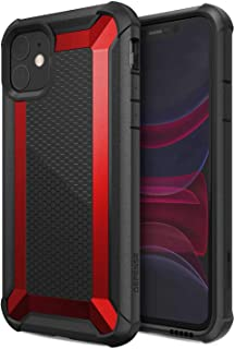 Defense Tactical, iPhone 11 Case - Heavy Duty Protection with Drop Shield, Military Grade Drop Tested Case for Apple iPhone 11, (Red)