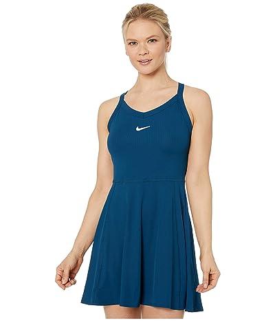 Nike Court Dry Dress (Valerian Blue/White) Women