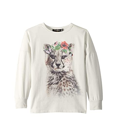 Rock Your Baby Floral Cheetah T-Shirt (Toddler/Little Kids/Big Kids)