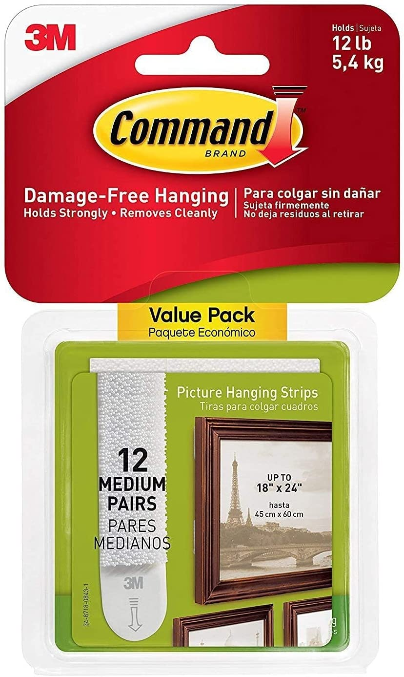 Command Picture Hanging Strips Free Shipping Cheap Bargain Gift Value lowest price 48-Pairs 1720 Medium Pack