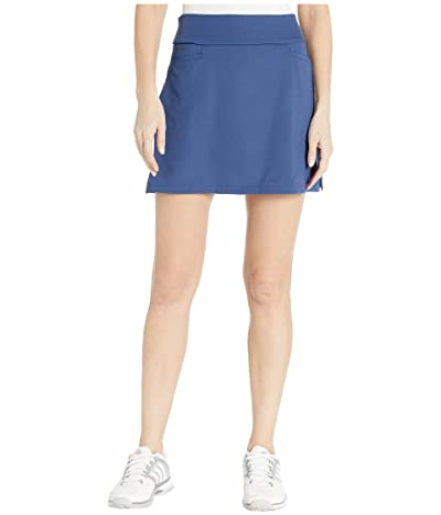adidas Golf Solid Knit Skort (Tech Indigo) Women
