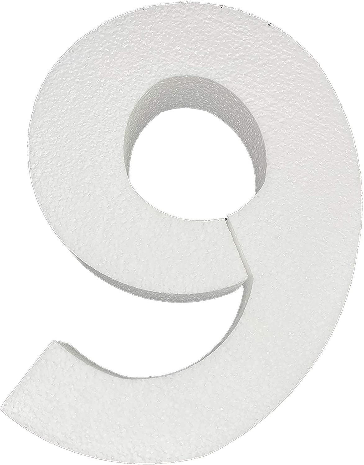 Number 0 Smooth Foam Numbers 12 Inches