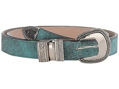 Leatherock Brandi Belt (Turquoise) Women