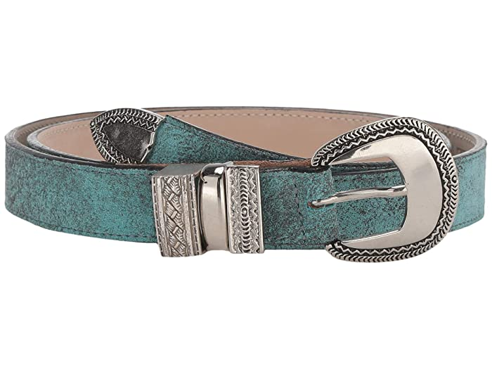 Leatherock Brandi Belt (Turquoise) Women