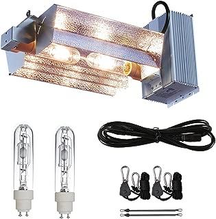 TopoGrow 630W CMH CDM Grow Light Kit W/3100K Bulb W/Open Adjust Reflector 120/240V Replace LED 300W/600W/1000W Grow Light