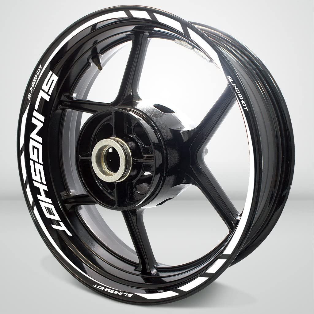 2 Tone Amethyst Motorcycle Rim Wheel Decal Accessory Sticker for Suzuki Slingshot