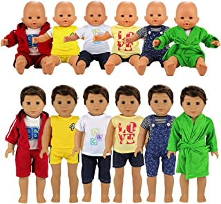 Best 14 inch baby boy doll clothes Reviews