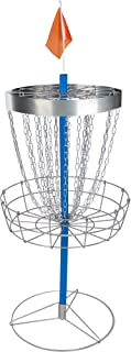 Trademark Innovations 4' Tall Portable Metal Disc Frisbee Golf Goal - by Trademark Innovations DISCGOLF-Blue