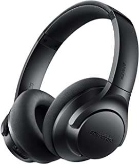 Soundcore Life 2 Active Noise Cancelling Over-Ear Wireless Headphones, Hi-Res Audio, 30-Hour Playtime, CVC Noise Cancellat...