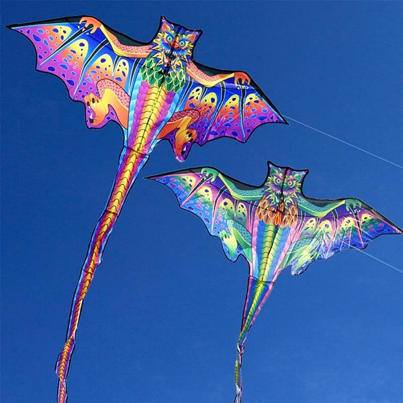 YSJJVDS Kites Save money Color Bat Kite Children Sports Superior Toys Outdoor Funny