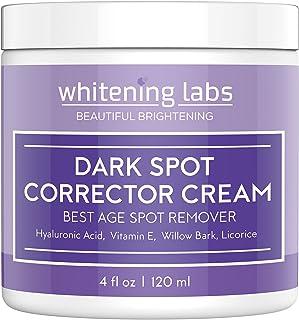 Dark Spot Corrector Face Body Cream. Spot Fade Remover Diminisher for Men and Women 4 OZ