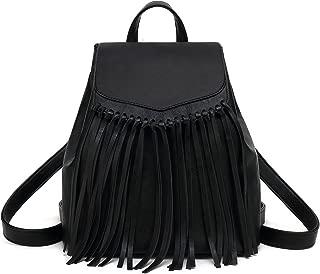 Best leather tassel backpack Reviews