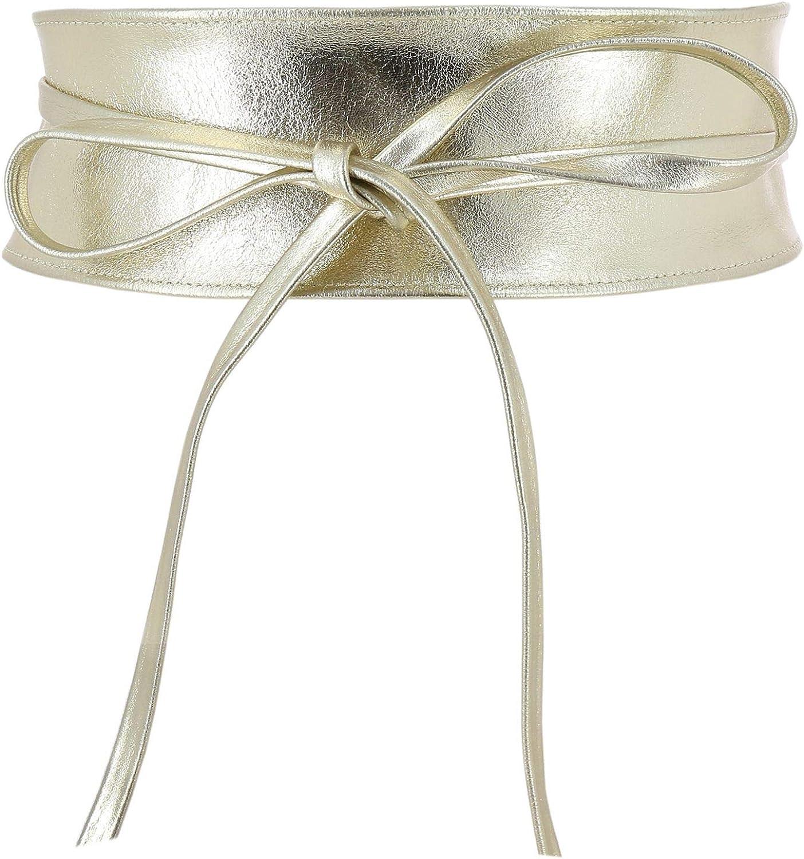 FASHIONGEN - Woman Italian Obi belt Challenge the lowest price CASSIANE leather Oklahoma City Mall