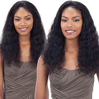 Model Model Nude Fresh Brazilian Human Hair Lace Front Wig Wet&Wavy Loose Deep (NATULAR)