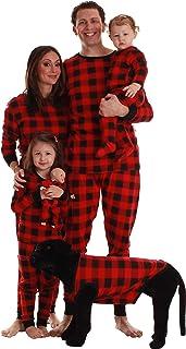 Buffalo Plaid Matching Christmas Pajamas for Family,...