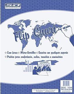 Papel Para Flip-Chart Micro serrilhado, São Domingos, 6021-6, Multicor
