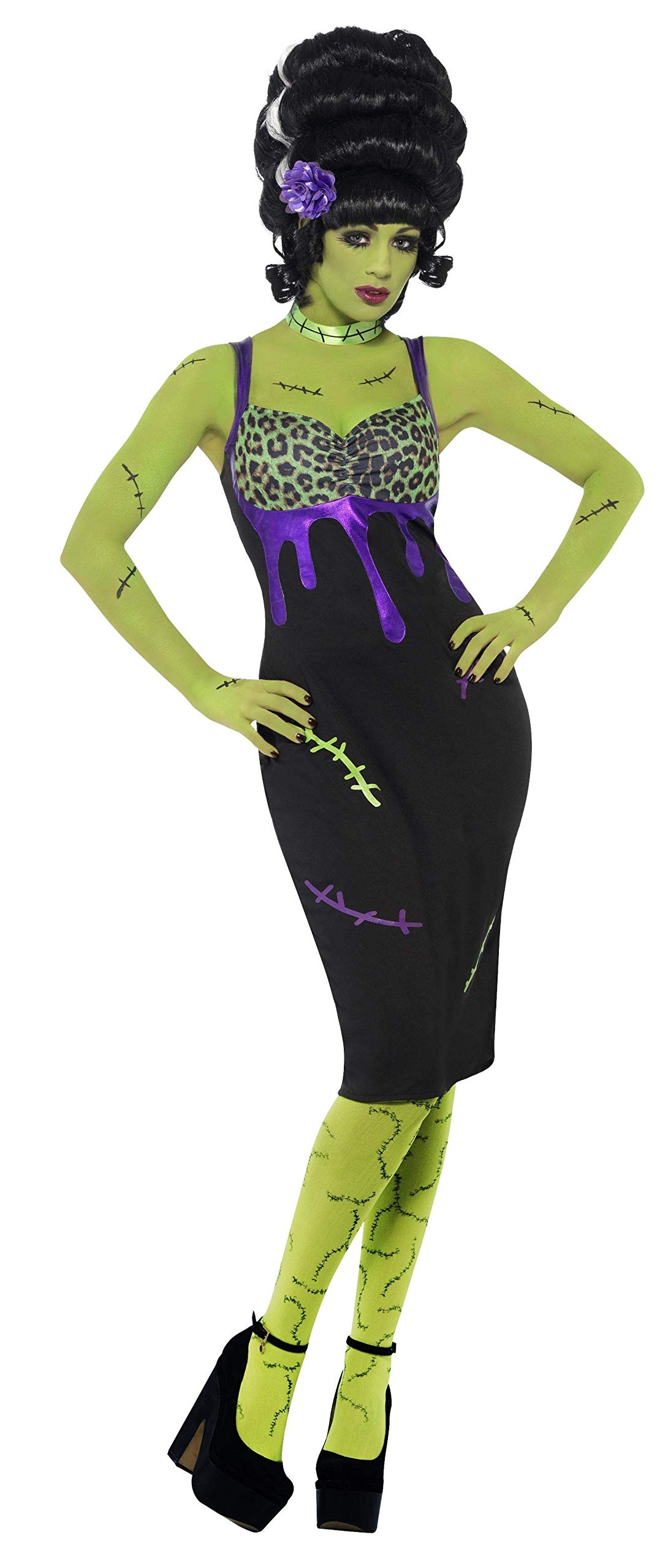 Smiffys - Disfraz de pin up esposa de Frankie (23356M): Amazon.es ...
