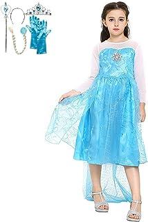 Katara 1099 Disfraz de Elsa Frozen con Set de Princesa - Ni