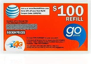 gophone refill $100