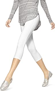 HUE Women's Temp Control Cotton Capri Leggings