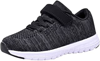 Umbale Girls Flyknit Sneakers Comfort Running Shoes(Toddler/Kids)