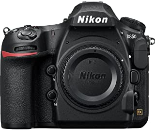 Nikon D850 Digital Camera - 45.7 MP, Body Only, Black
