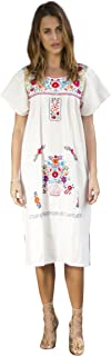 Best mexican embroidered dress Reviews