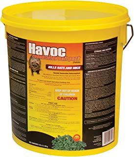 Neogen Havoc 116372 Rodenticide Bait Place Packs, Ready-To-Use Pallets For Control