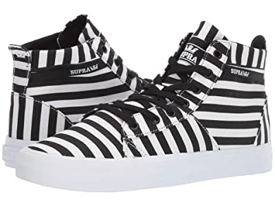 Supra Stacks Mid (Black/White Stripe) Men