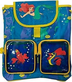 Disney Mochila Junior Sirenita azul